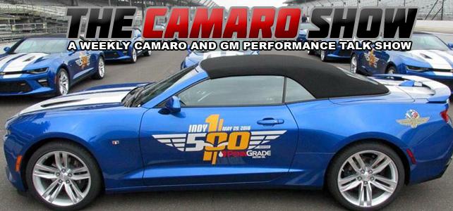 Indy 500 Camaro SS